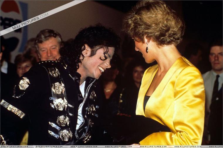 Meeting Princess Diana & Prince Charles-1988 ( suite )