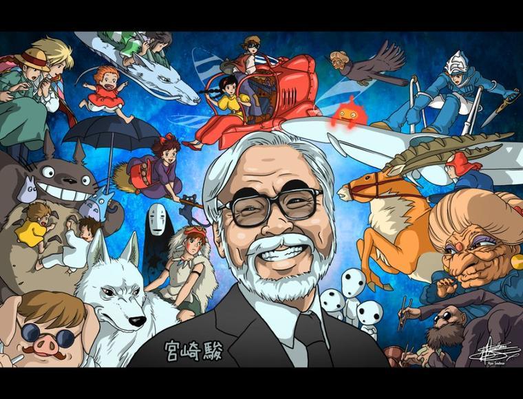 🐼 L'univers Du Grand Monsieur Hayao Miyazaki 🐨