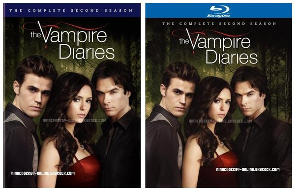 Voici la couverture officiel du DVD & Blu-Ray de la saison 2 de The Vampire Diaries
