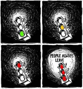 Tout le monde part un jour ...