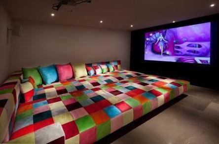 Salle de cin ma maison image qui vient avec la fiction - Salle de cinema maison ...