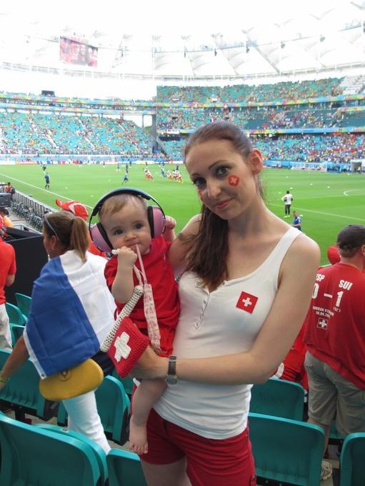 Déplacement à Salvador de Bahia, Suisse - France, 20.06.2014, Coupe du monde 2014 au Brésil