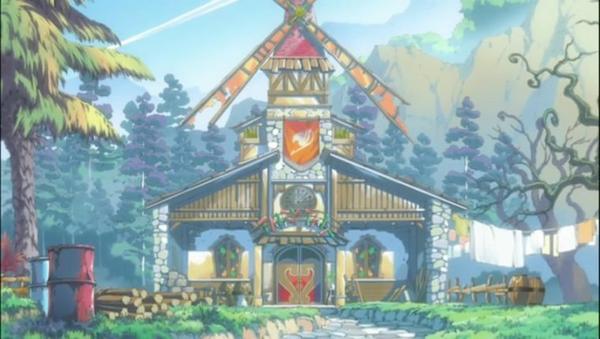 la guilde de fairy tail a Earthland