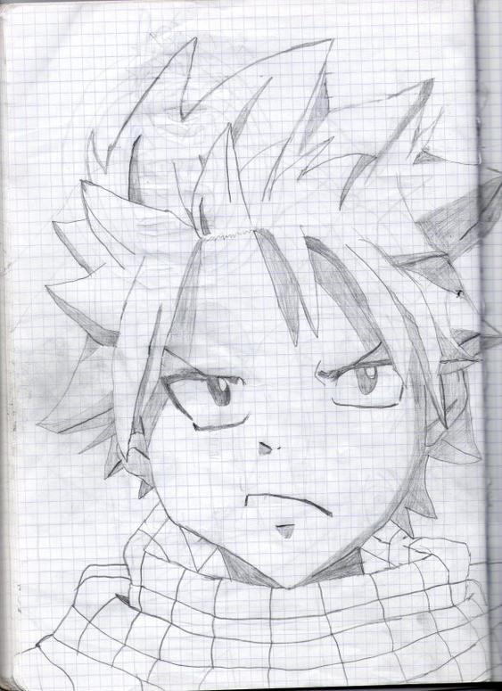 Dessin natsu de fairy tail dessin manga - Dessiner fairy tail ...