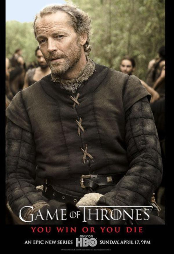 54. JORAH MORMONT - Personnage Game of thrones - Saison 1