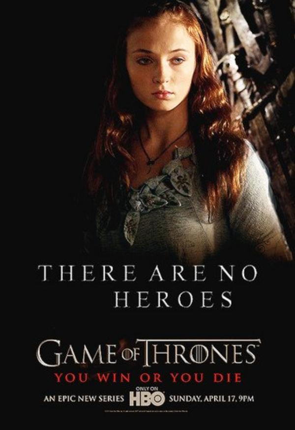 58. SANSA STARK - Personnage Game of thrones - Saison 1