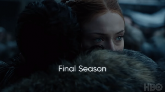 87 - Game of thrones - Saison 8 - Sansa et Jon de retour à Winterfell