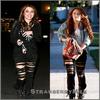 Oh, on dirait que le pantalon de Miley s'est fait attaquer par un tigre.. ou un chat..