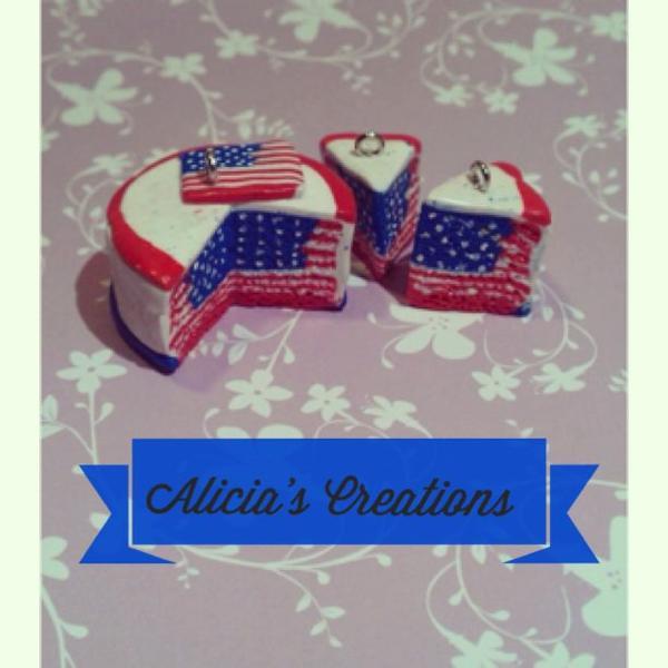 Gâteau drapeau des États Unis