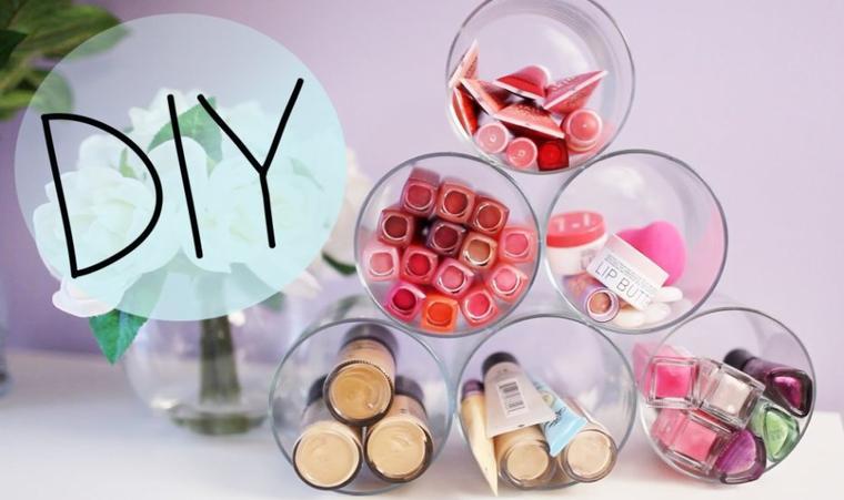 Diy Rangement Maquillage Les Tutoriels De Lilie