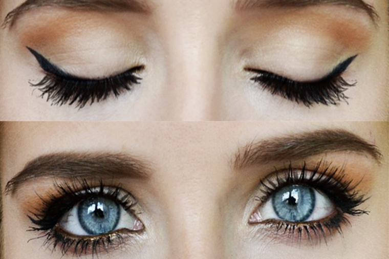 tutoriel ♥ maquillage simple pour les yeux bleu ♥ - les-tutoriels