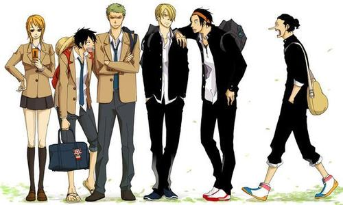 Academia One Piece : Chapitre 02