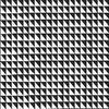 Ce dessin est uniforme et régulier. Pourtant, quand vous le regardez, l'½il sans cesse en mouvement essaye de créer des dessins.