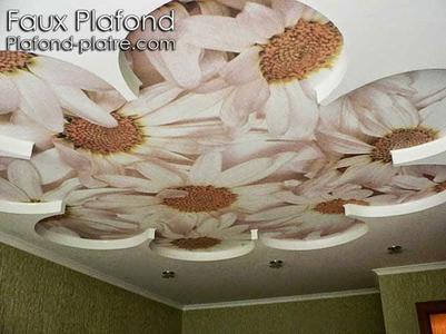 Décor faux plafond de la chambre à coucher - Faux plafond ...