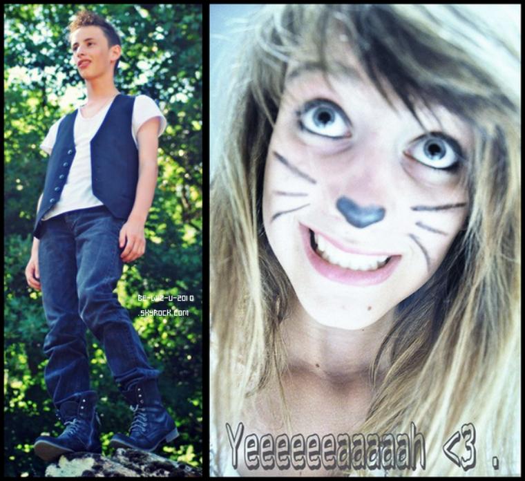 -   18/06 : Deux photo d'Etienne & de Devi Posté sur leur facebook.       -