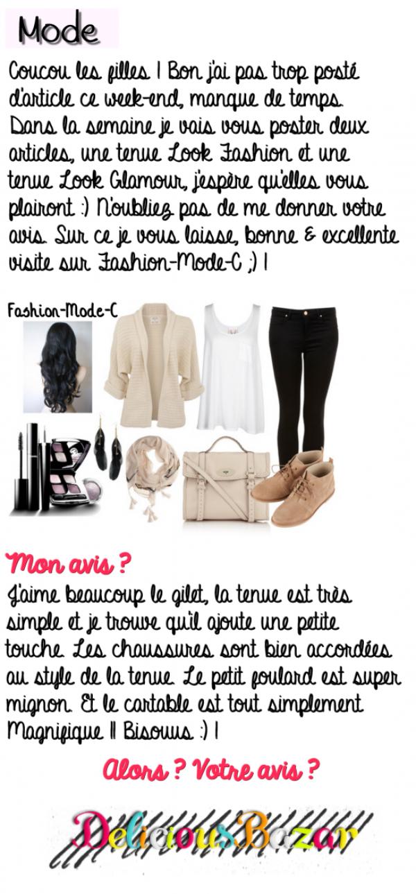 Tenue Look Fashion 11 !
