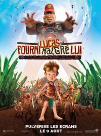 Lucas fourmis malgré lui. (Florence voix-off de la fourmis Kraela).