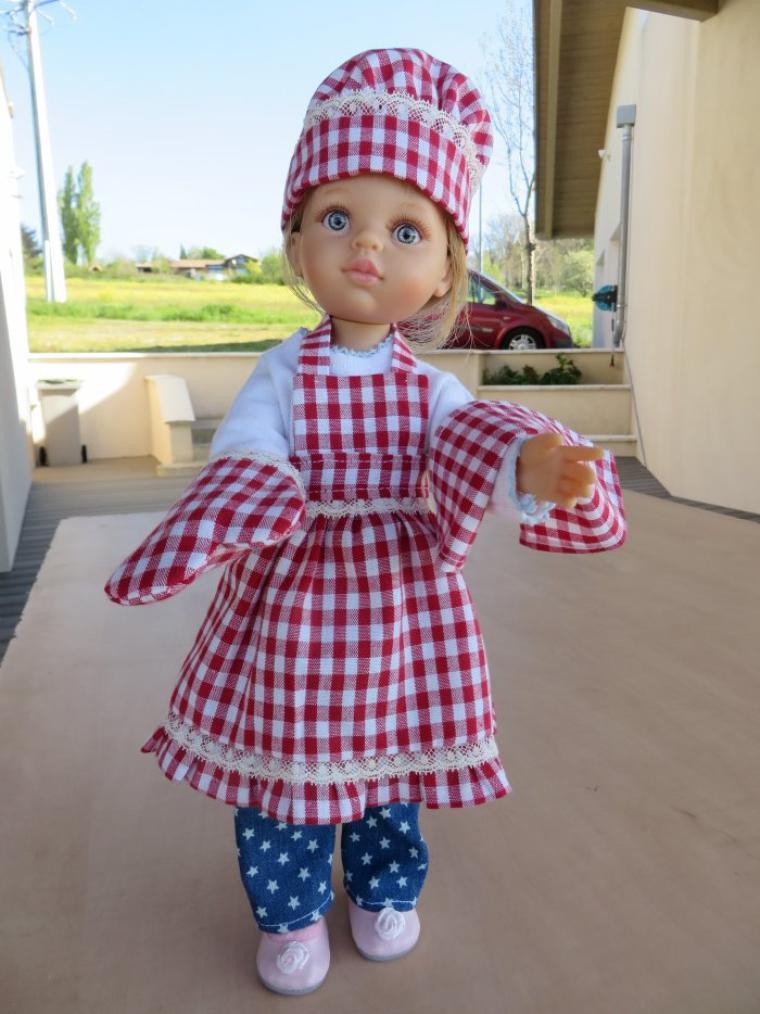 petit trousseau pour la poupée de ma petite fille