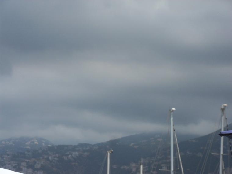 Une fois de plus....des nuages noirs sur le pays
