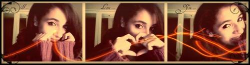 Dans mon coeur, l'amour est devenus malheur.