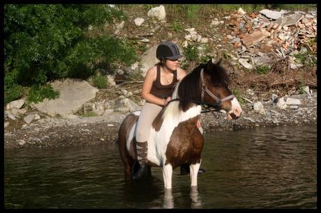 Suite, les photos à la rivière.