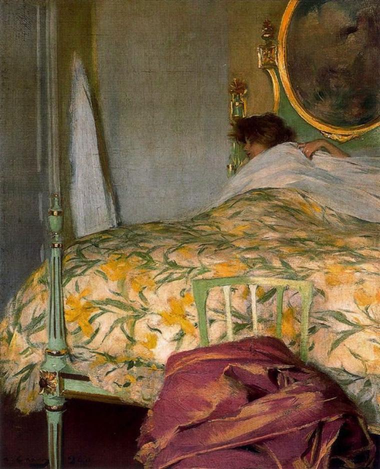 Ramon Casas Carbo  ,  peintre catalan  (1866-1932)