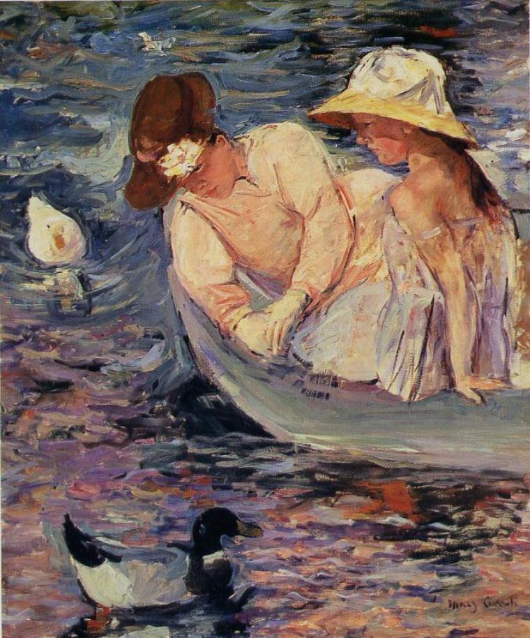 Mary Cassat  (1843-1926)  :  l' été