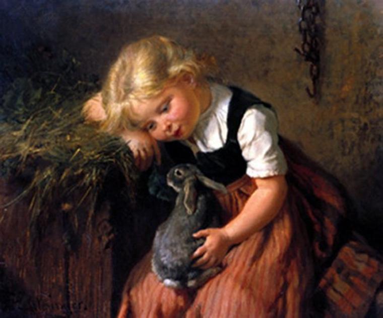 Blagounette...   /   Félix Schlesinger   (1833-1910)