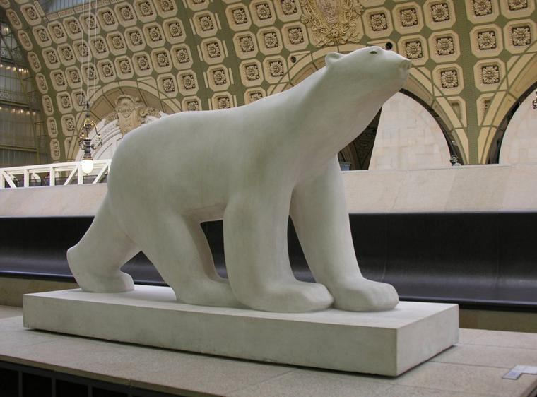 Winslow Homer , 1895 / Victor Vasnetsov (1848-1926) / Nikolaus Michael Spengler (1700-1776) /  Peinture rupestre Grotte Chauvet / oursons / Emmanuel Benner , 1932 / Gravure /  François Pompon (1855-1933)