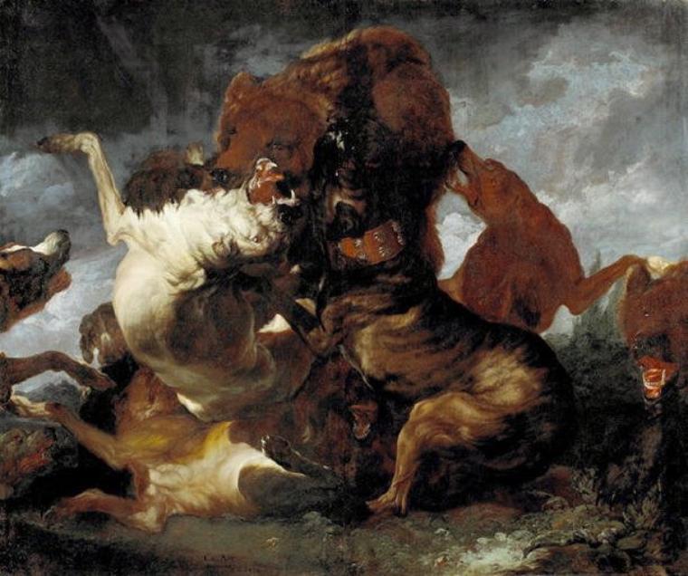 Des ours pour le jardinier du Tarn et Garonne... : N.Samokish  /  Michael Sowa /  Carl Borromaüs Andreas Ruthart  (1700-1776)