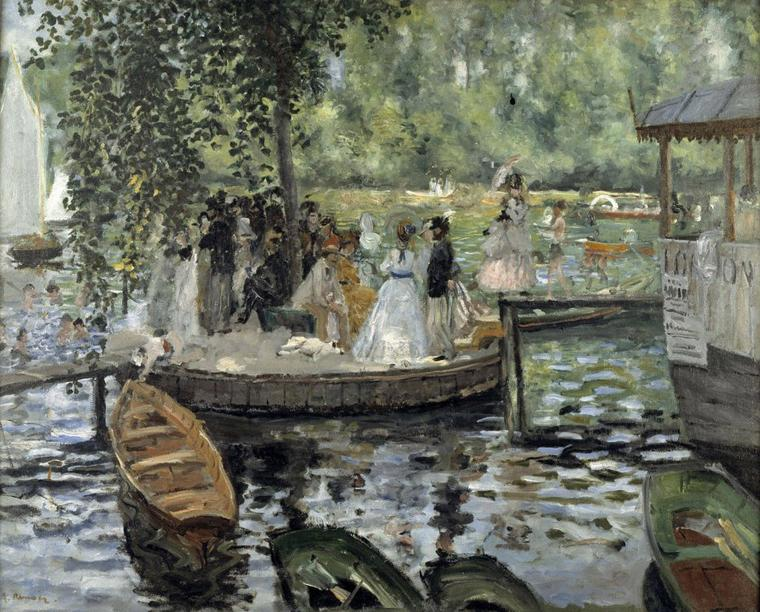 Ce soir , France 5  : Route de l'art , les impressionnistes au fil de l'eau ...