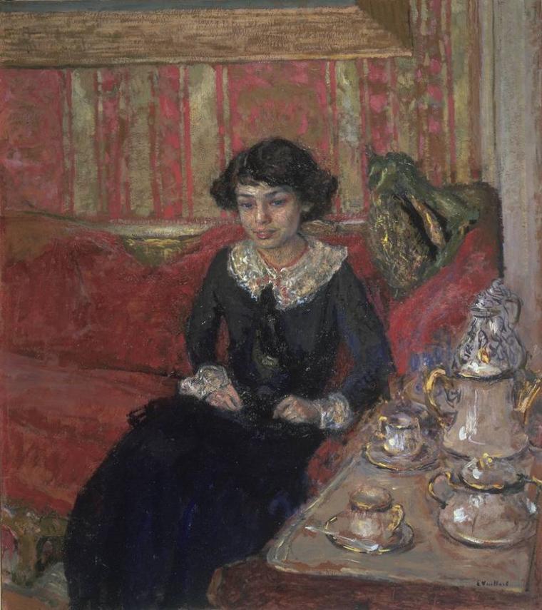 Edouard Vuillard  ,  l' intimiste  (1868-1940)