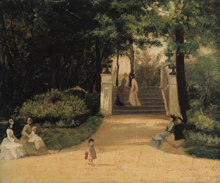 Le saint du jour..................... :   Frédéric... BAZILLE   (1841-1870)
