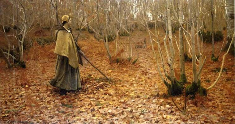 Lowell Birge  HARRISON  (1854-1929)   :  Novembre (1881)