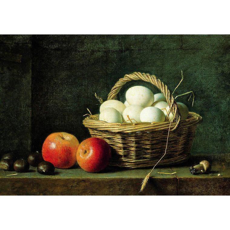 """"""" Ce qui est si beau, si fragile, Ni rond, ni carré, ni pointu, Et que l'on trouve sous les poules, Raconte-nous les oeufs, veux-tu ?  """"  Georges  DUHAMEL (1884-1966)    /   Mon royaume (1932)"""