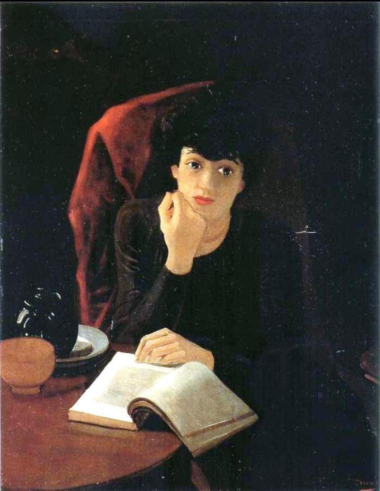 André  DERAIN  (1880-1954)   :  La tasse de thé  (1935)