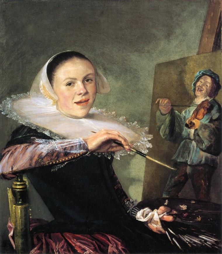 COUPS  DE  COEUR  ...  2 tableaux de Judith  LEYSTER  (1609-1660)