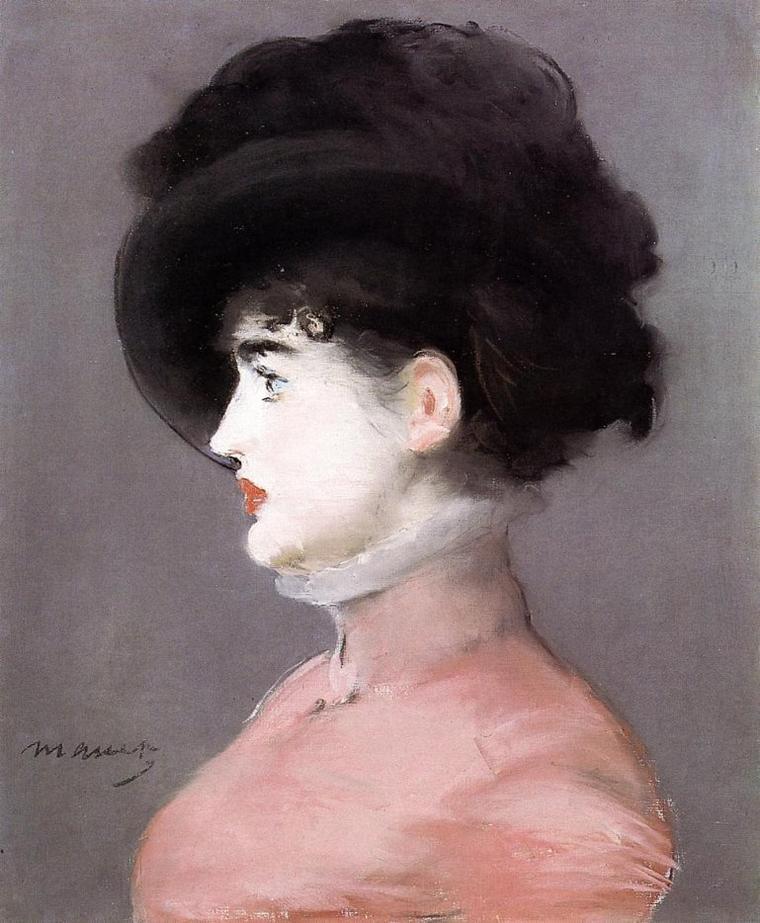 """Bonne fête  """" EDOUARD  """"   :  Edouard Manet  (1832-1883)"""