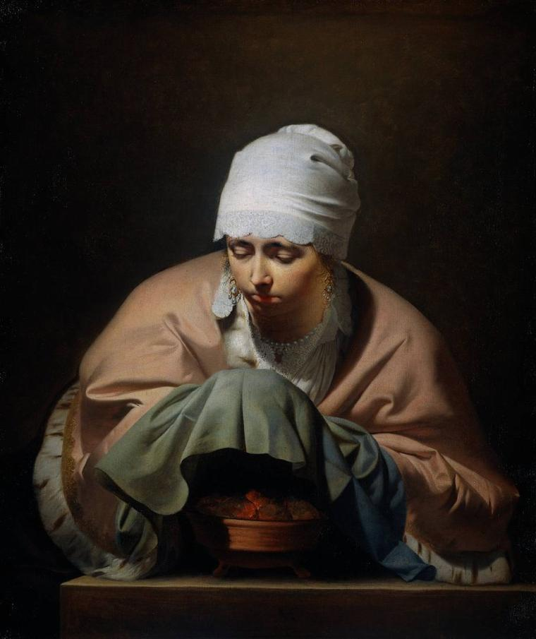 Caesar  VAN  EVERDINGEN  (1616-1678)   :  hiver