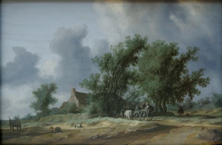 Météo du jour....  avec 3 peintres hollandais
