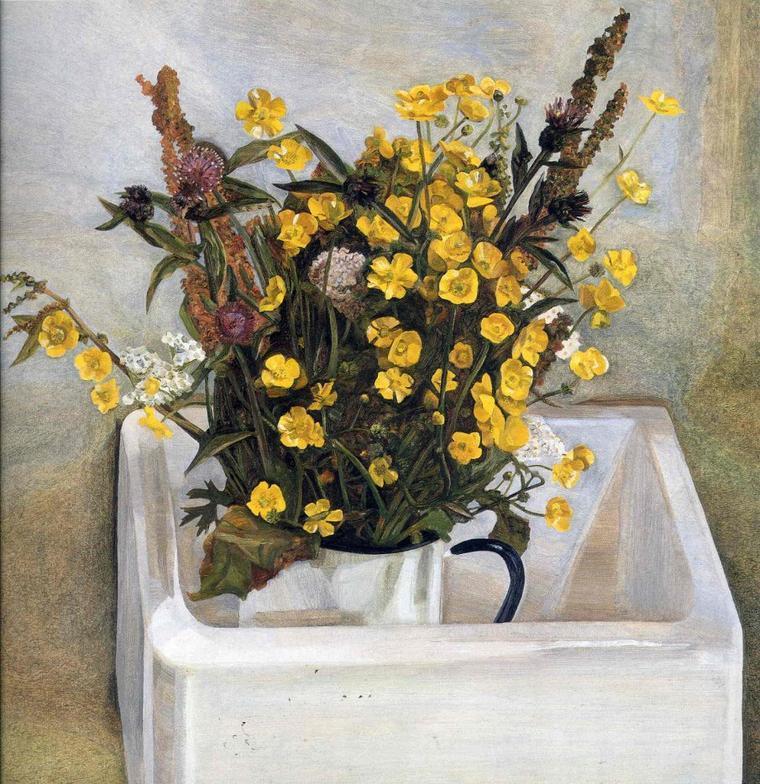 Quand arrives-tu , printemps ... ?  3 tableaux de Lucian  FREUD  (1922-2011)