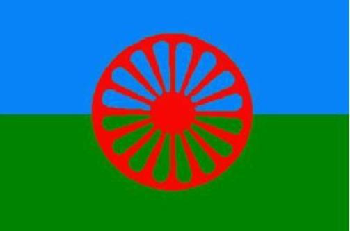 le drapeau des gens du voyage