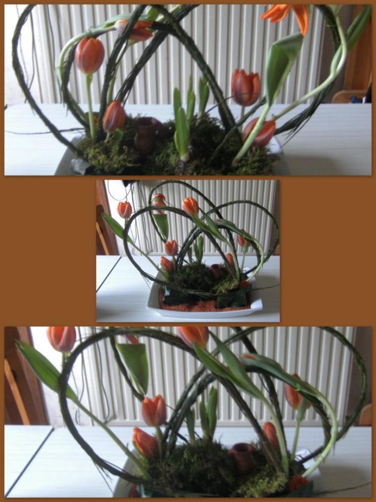Atelier d'art floral mars 2012