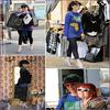 . Lundi 10 Août | Katy faisant du shopping et posant avec une fan, à Sidney en Australie. .