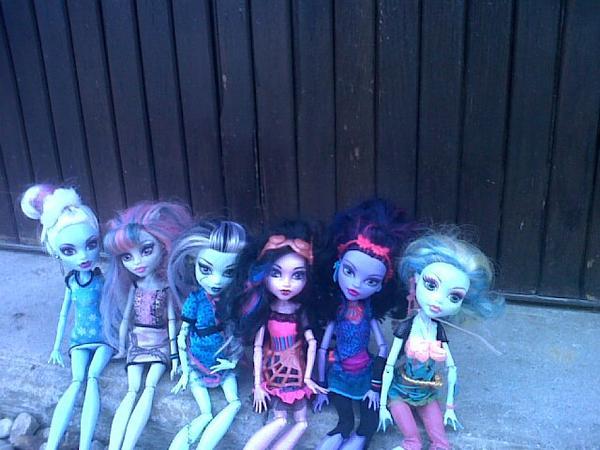 shooting de mes dolls
