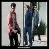 Nick Jonas au studio West Hollywood  //   Joe.j & Kevin sr Paul à Toluca Lake