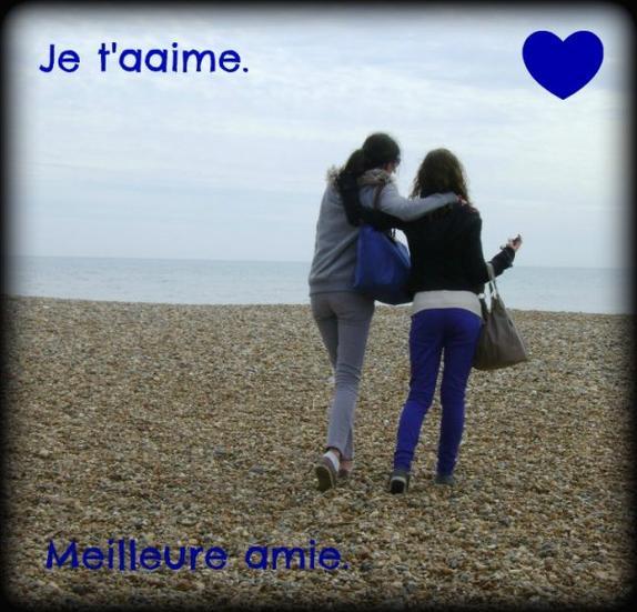 Une meilleure amie, c'est une soeur que la vie a oublié de nous donner. ♥