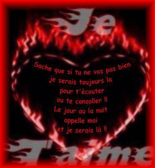 Po me d 39 amour triste de tous - Un coeur amoureux ...