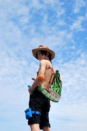 Cosplay One Piece.