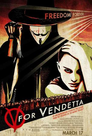 V pour Vendetta- Vi Veri Veniversum Vivus Vici